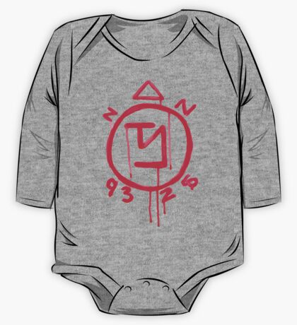 Supernatural inspired Angel Banishing Sigil Symbol One Piece - Long Sleeve