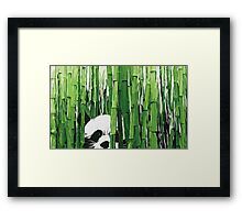Peking Panda Framed Print