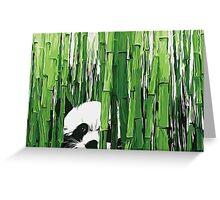 Peking Panda Greeting Card
