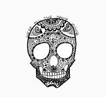 """""""We're All The Same Inside"""" Hipster Skull Zentangle Unisex T-Shirt"""