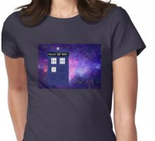 Journey through Time and Space Womens Fitted T-Shirt