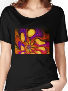Flowers of Autumn Women's Relaxed Fit T-Shirt