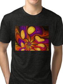 Flowers of Autumn Tri-blend T-Shirt