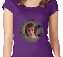 Shenmue Nozomi Shenmue Women's Fitted Scoop T-Shirt