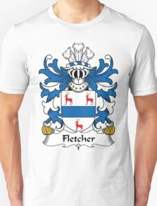 Fletcher Coat of Arms II (Welsh) T-Shirt