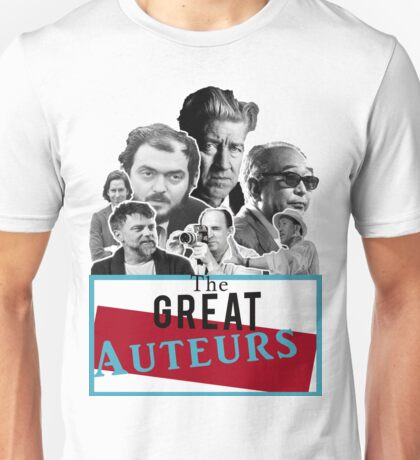 Great Auteurs - Filmmakers (WITH outline) Unisex T-Shirt