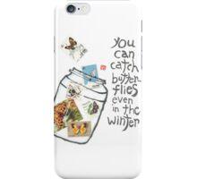 Let's Look For Butterflies iPhone Case/Skin