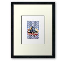 Magic Kingdom 45th Anniversary Framed Print