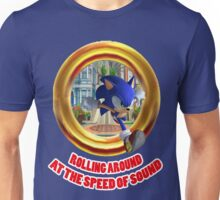 Sonic the Hedgehog - Rolling Around At The Speed of Sound Unisex T-Shirt