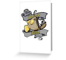 Angler Fish Feminist Killjoy Tee Greeting Card