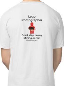 Lego Photographer Classic T-Shirt
