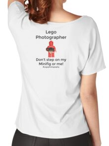 Lego Photographer Women's Relaxed Fit T-Shirt