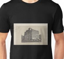 695 View of the southeast corner of 23rd Street 6th Ave Booth's Theatre shows 6th Ave horse car Unisex T-Shirt