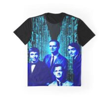 Kraftwerk Blue electric city design. 2016-1017 Tour! Graphic T-Shirt