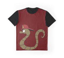 Fireman Snake Graphic T-Shirt