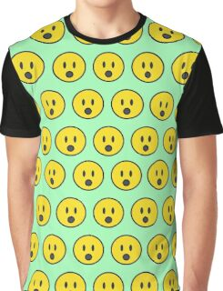 Surprise emoji texture Graphic T-Shirt