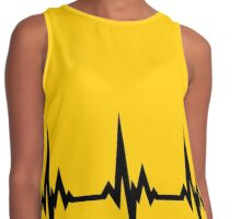 Heart Beats for Charlie Brown Contrast Tank
