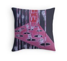Exit Throw Pillows & Totes Throw Pillow