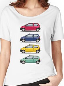 Renault Twingo 90s Colors Quartet Women's Relaxed Fit T-Shirt