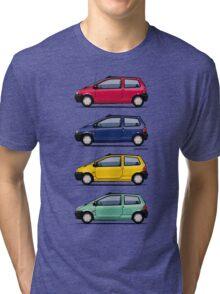 Renault Twingo 90s Colors Quartet Tri-blend T-Shirt