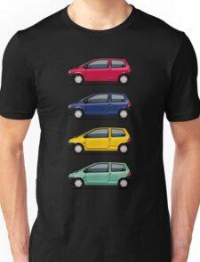 Renault Twingo 90s Colors Quartet Unisex T-Shirt