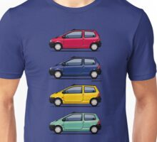 Renault Twingo 90s Colors Quartet Unisex T-Shirt