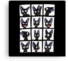 Jiji smiles Canvas Print