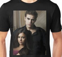 Stefan & Elena The Vampire Diaries Unisex T-Shirt
