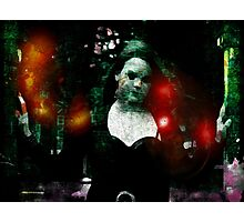 Dark Lady Programmed to Laugh Photographic Print