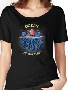Joyful Kraken Women's Relaxed Fit T-Shirt
