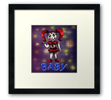 Sister Location: Circus Baby Framed Print