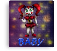 Sister Location: Circus Baby Canvas Print