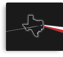 Dark Side of Texas Canvas Print