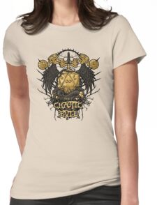 Chaotic Evil Womens Fitted T-Shirt