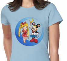 Mini-Moons Womens Fitted T-Shirt