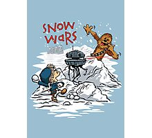 Snow Wars Photographic Print