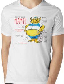Descriptive Mamil! Mens V-Neck T-Shirt