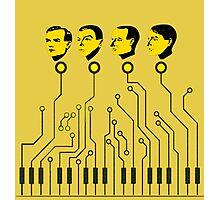 Kraftwerk keyboard circuit design! 2016-2017 tour! Photographic Print