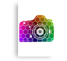 Camera Colors Canvas Print