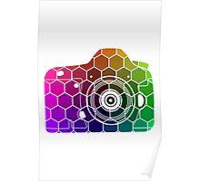 Camera Colors Poster