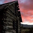 Cabin Sunset #2 by Candy Gemmill