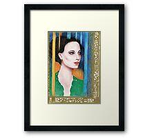 Art Nouveau Irene Adler Framed Print