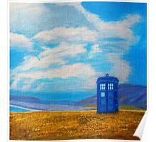 TARDIS: Seaside Stop Poster