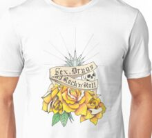 Sex, Drugs and Rock 'n' Roll Unisex T-Shirt