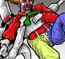Flying Clown Armbar Sticker
