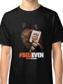 Giants Wild Card: #BeliEVEN Classic T-Shirt