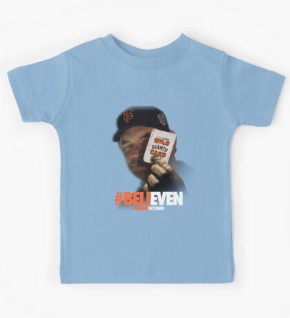 Giants Wild Card: #BeliEVEN Kids Tee