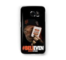 Giants Wild Card: #BeliEVEN Samsung Galaxy Case/Skin