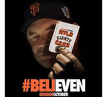 Giants Wild Card: #BeliEVEN Photographic Print