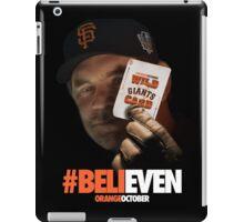 Giants Wild Card: #BeliEVEN iPad Case/Skin